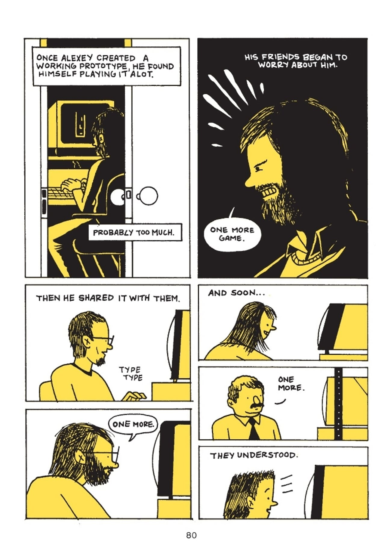 How Box Brown Made a Graphic Novel About 'Tetris' | Inverse