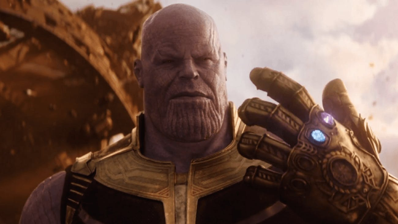 Thanos won't be able to do stuff like this anymore in 'Avengers 4'.
