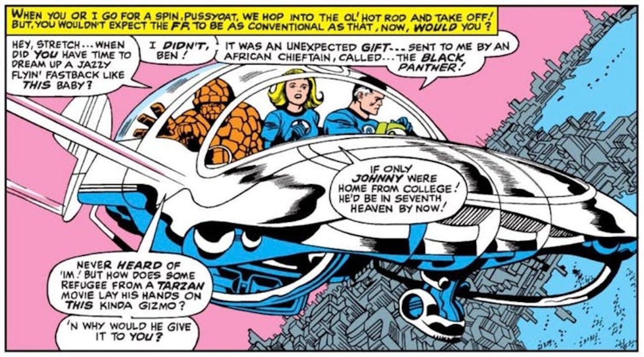 Fantastic Four, Marvel Comics, Comic Books, Tarzan, Technology, Innovation, Technological Innovation