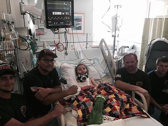 "Good Samaritans Save 4-Year-Old Who Suffered ""Internal Decapitation"""