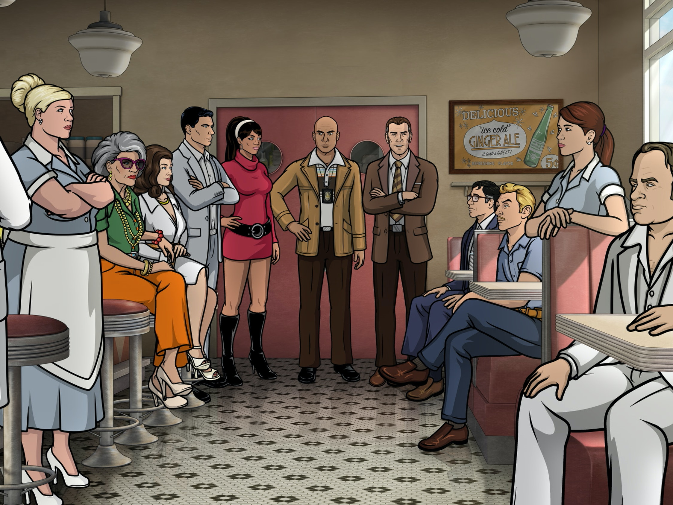 The 'Archer' Season 7 Finale Reveals A Death In The Family, But It Won't Stick