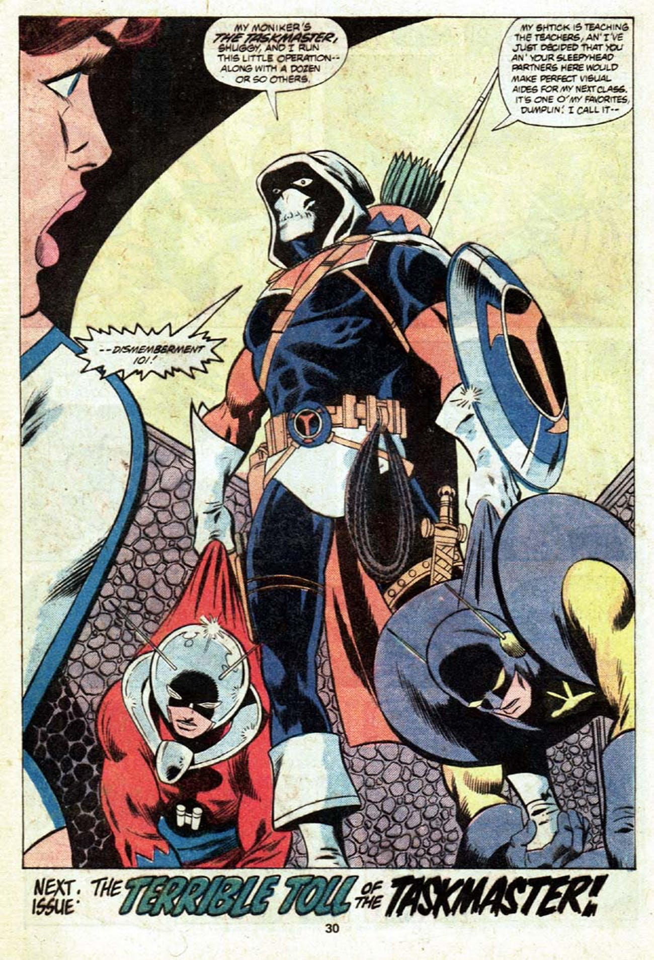 The Taskmaster Marvel
