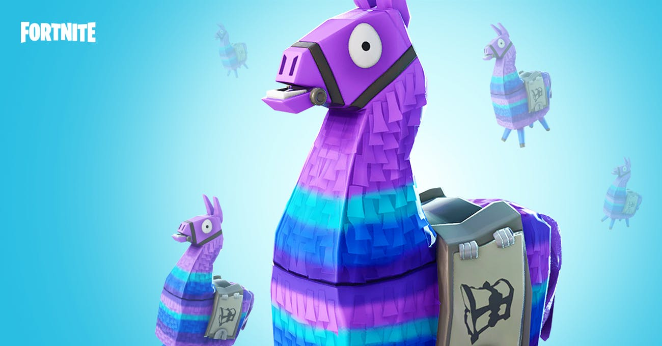 Supply Llamas are also a great source of supplies in 'Fortnite: Battle Royale'.