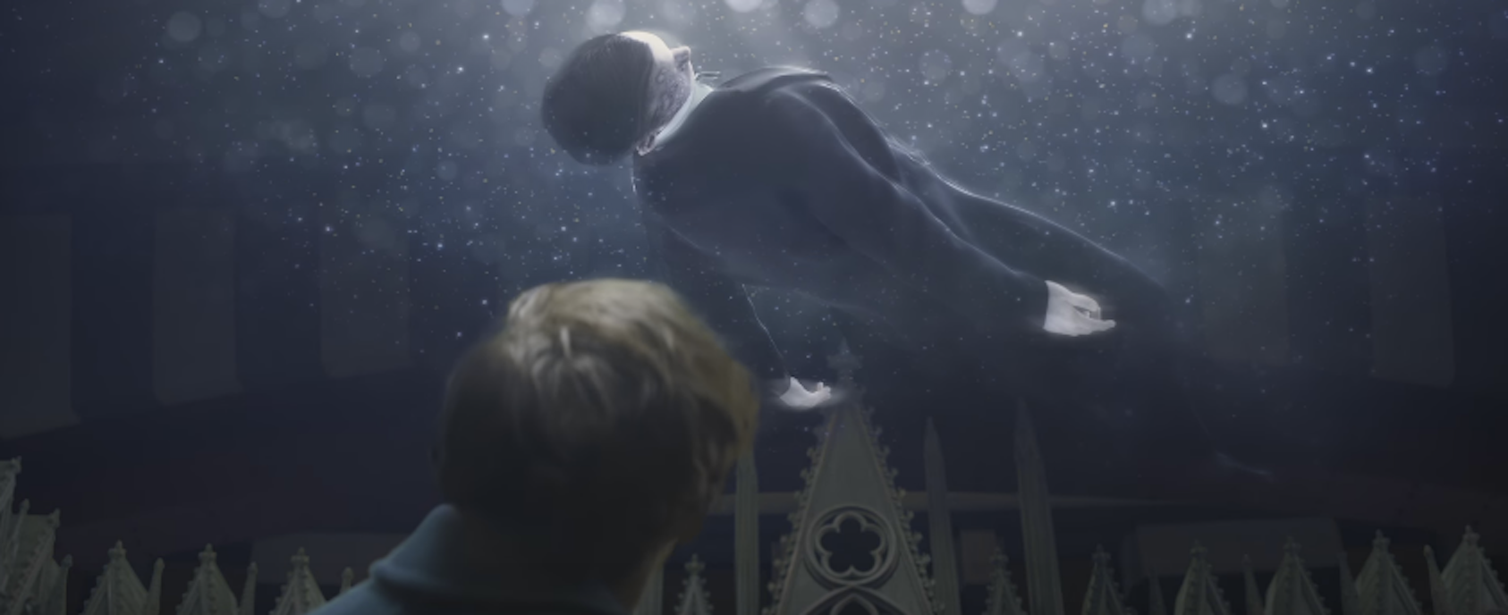 Newt Scamander at MACUSA in 'Fantastic Beasts and Where to Find Them'