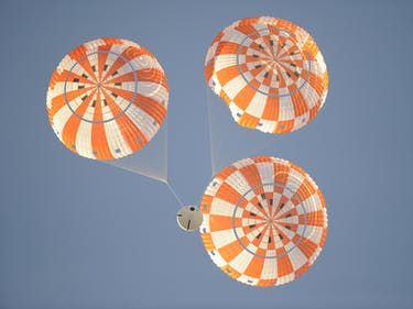 NASA is About to Test Out the Orion Spacecraft's New Parachute
