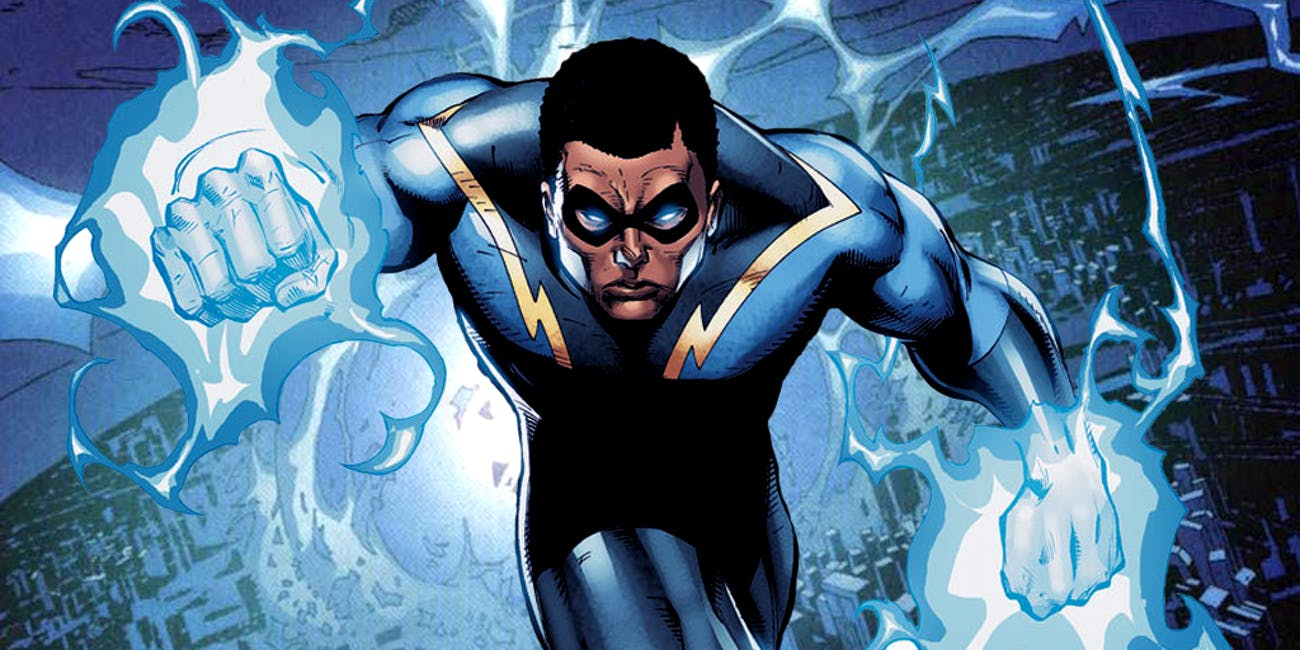 Black Lightning Arrowverse DC