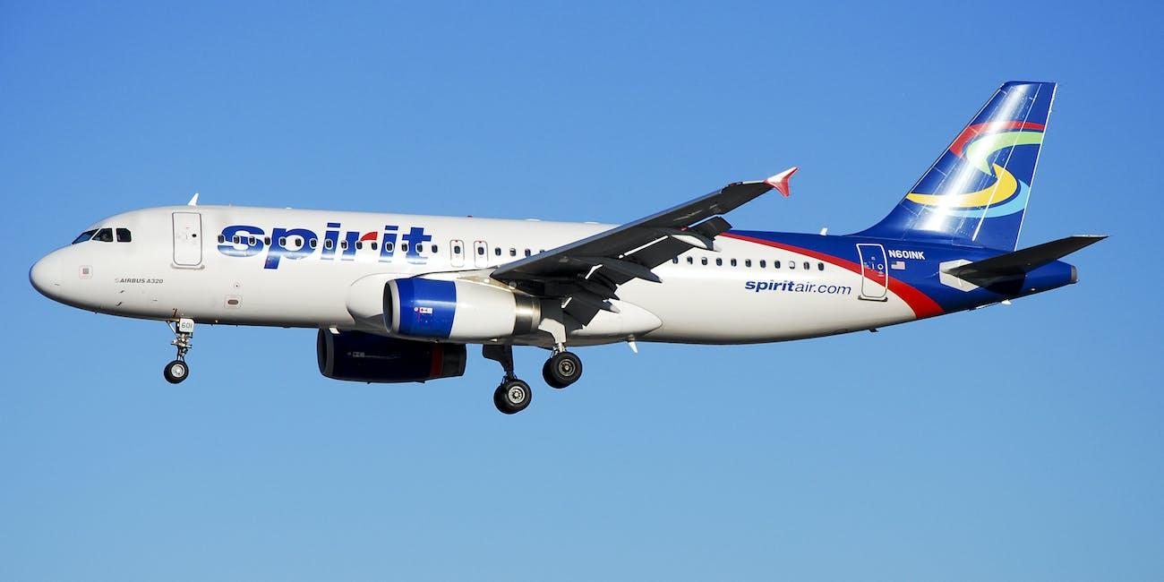 N601NK  Spirit Airlines Airbus A320-232  (cn 4206)
