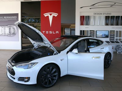 Elon Musk Says You Can Ride the Tesla Model S Like a Boat for a Very Short Amount of Time