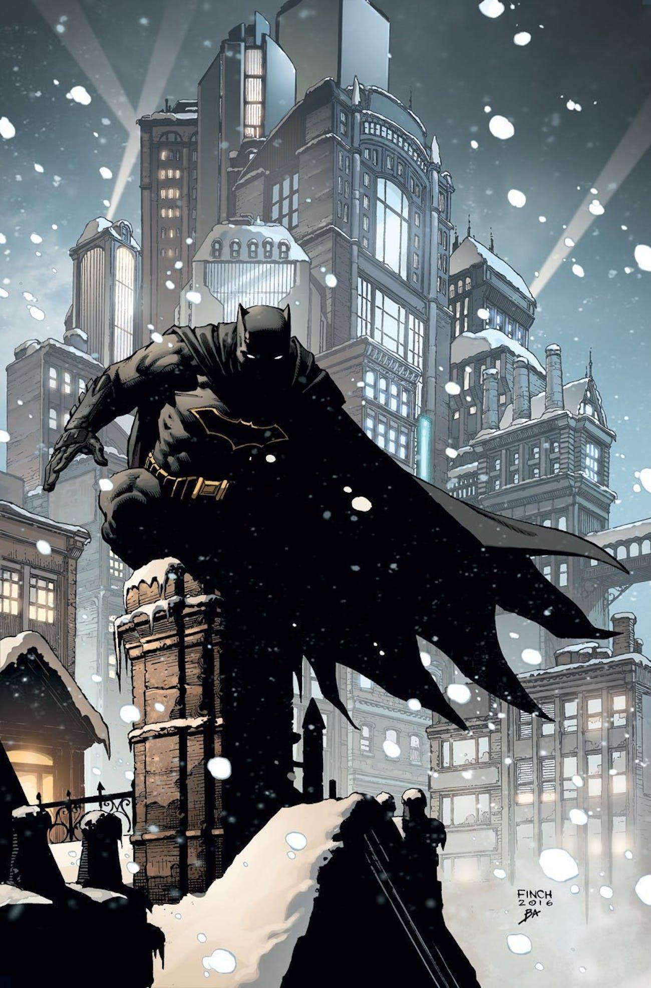 Batman Annual 2016 David Finch