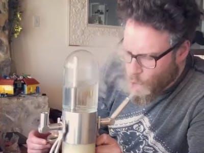 seth rogen gravity bong