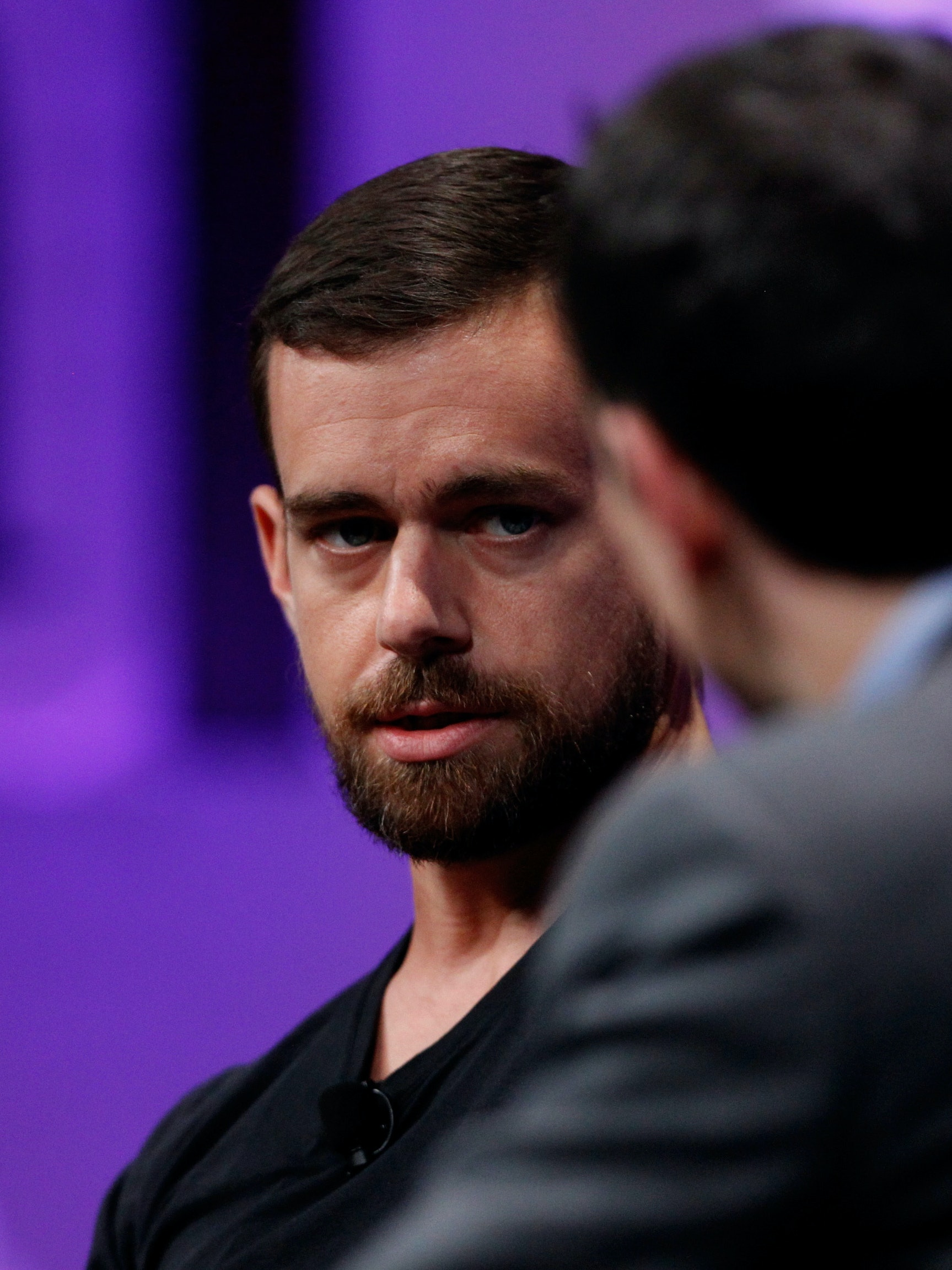 SAN FRANCISCO, CA - OCTOBER 09:  Twitter Co-Founder and Chairman and Square CEO Jack Dorsey speaks onstage during 'From 7 Dwarves to 140 Characters' at the Vanity Fair New Establishment Summit at Yerba Buena Center for the Arts on October 9, 2014 in San Francisco, California.  (Photo by Kimberly White/Getty Images for Vanity Fair)