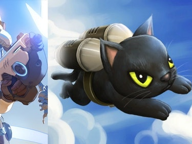 'Overwatch' Almost Had a Hero That Was Just a Cat in a Jetpack