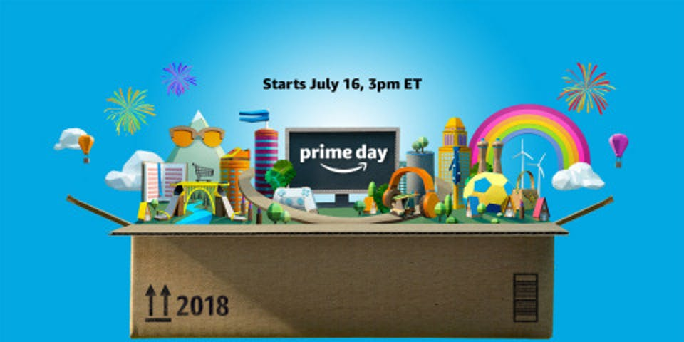 Amazon's Prime Day promo image.