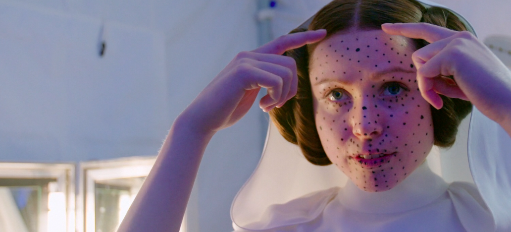 Ingvild Deila explains how her hair was changed to match Leia's.
