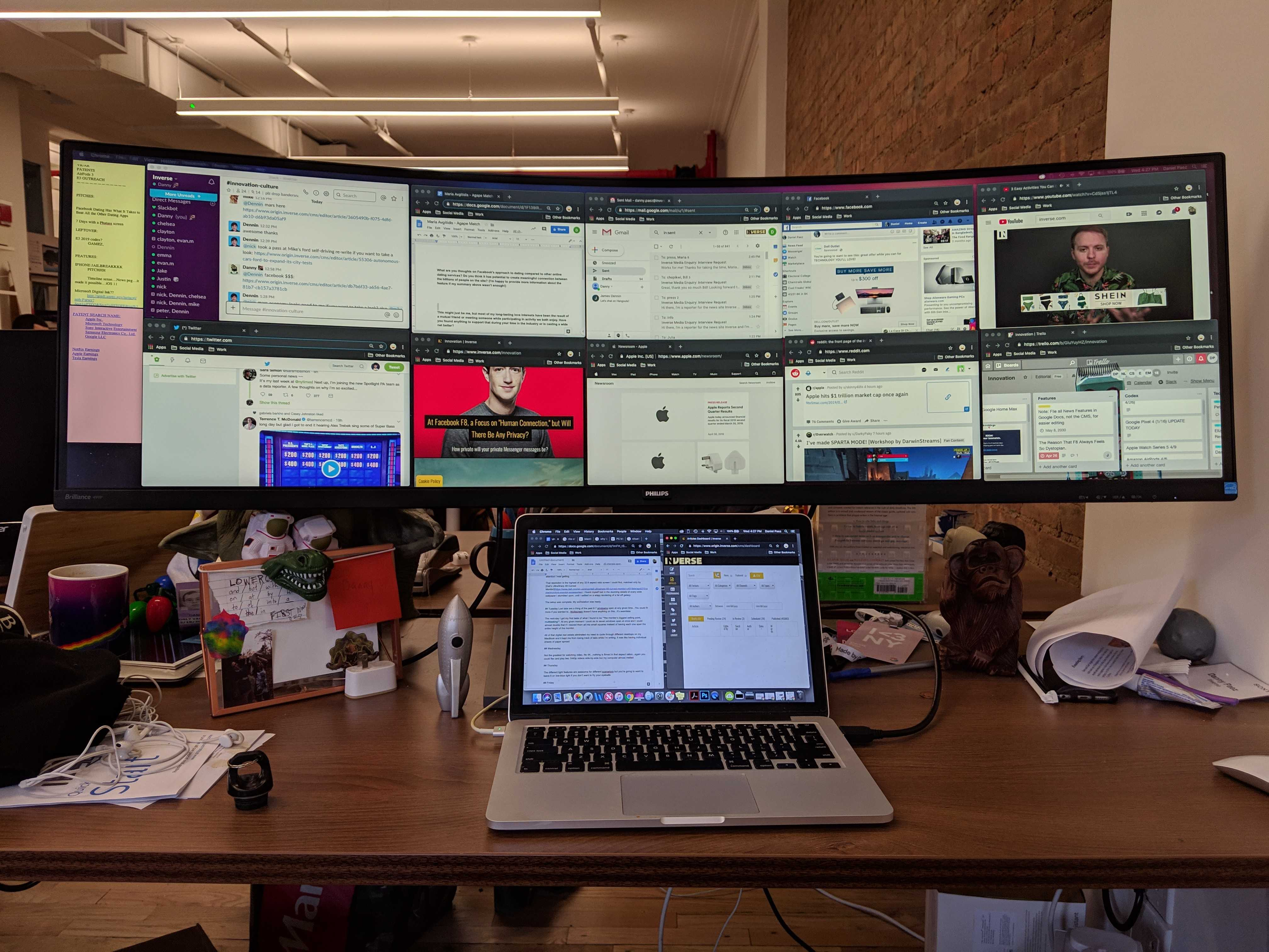 philips superwide monitor 4 ways a beastly screen will change how rh inverse com
