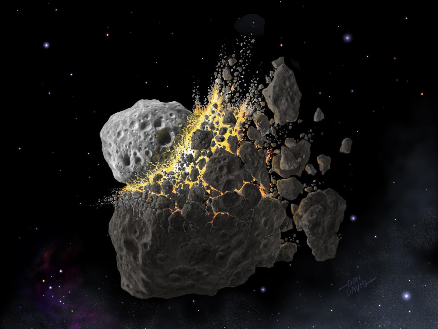 A 466 Million Year Old Collision is Pelting Earth with Space Confetti