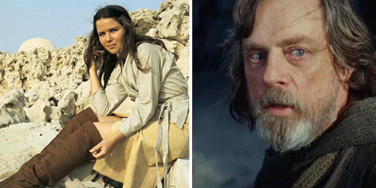 Camie (Koo Stark) in a deleted scene from 'Star Wars'