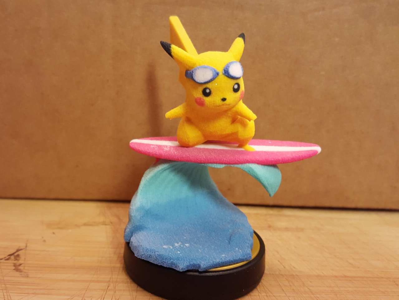 Surfin' Pikachu is ready to go.