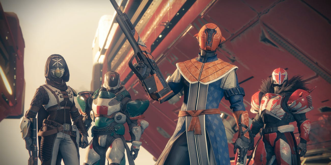 Epic lineup for a 4 vs. 4 Crucible match.