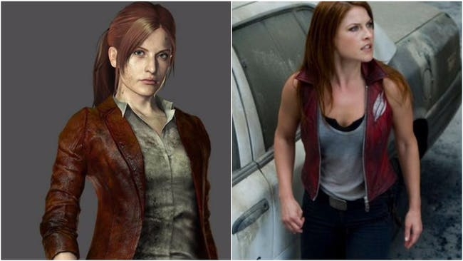Claire Redfield from Resident Evil
