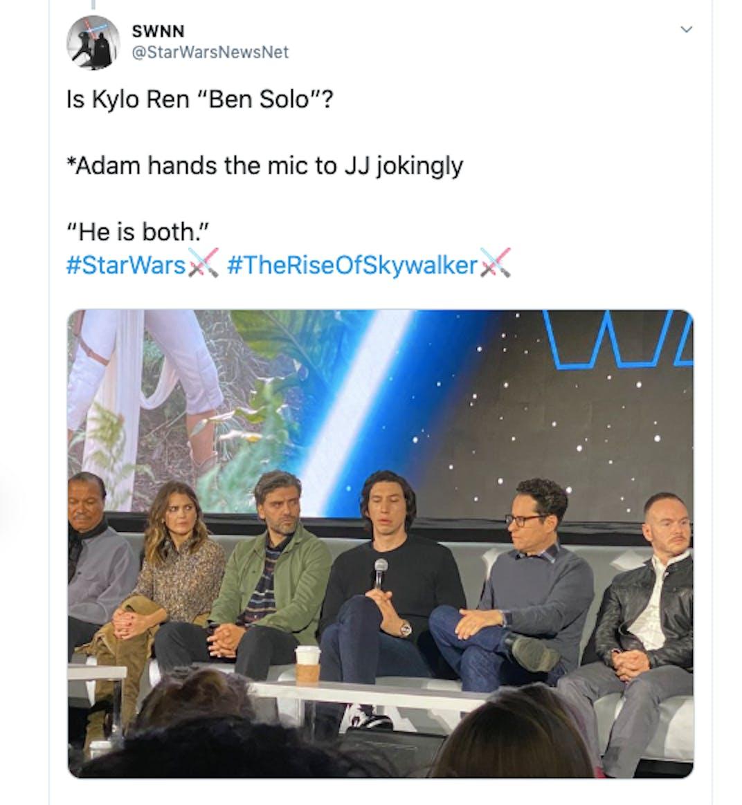 adam driver tweet