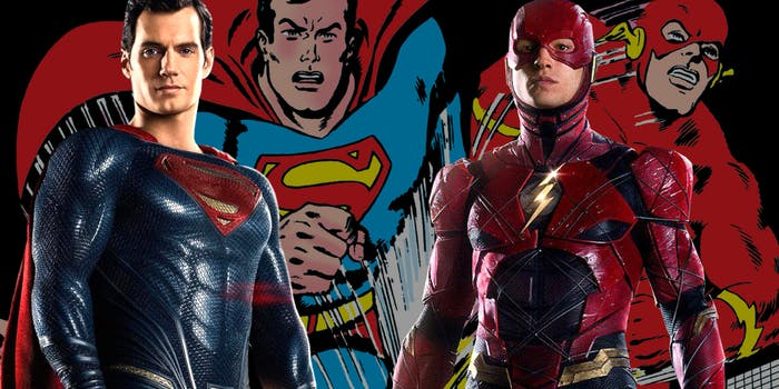 Superman The Flash Post Credits Justice League