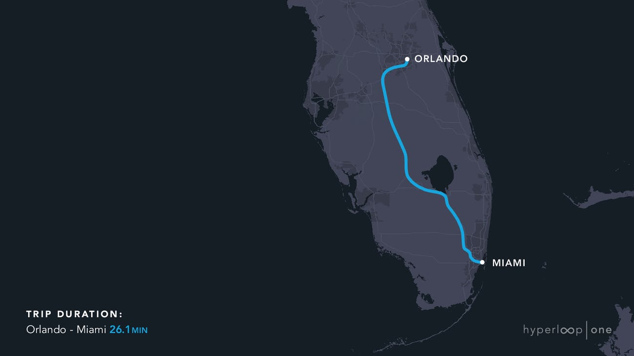 The Florida route.