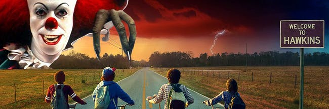 'IT' and other bits of classic '80s horror mashes-up really well with 'Stranger Things.'