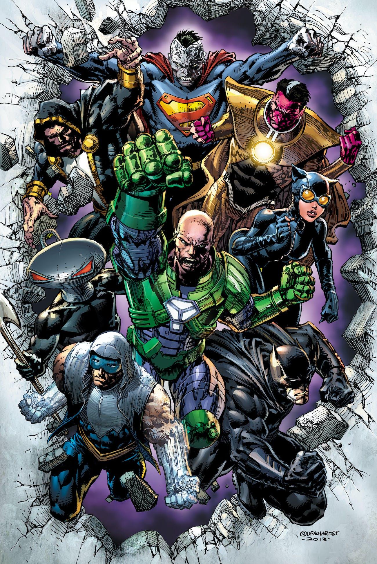 Injustice Justice League