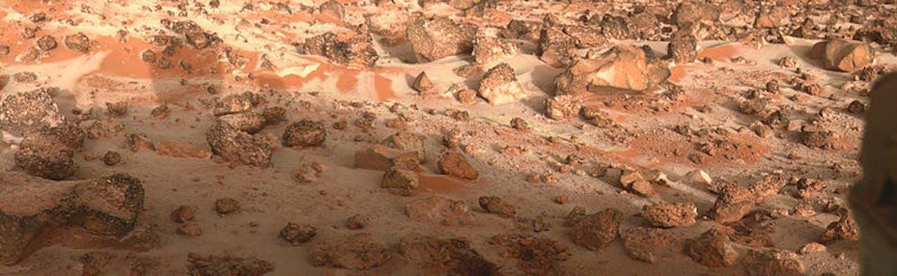 Viking 2 lander site