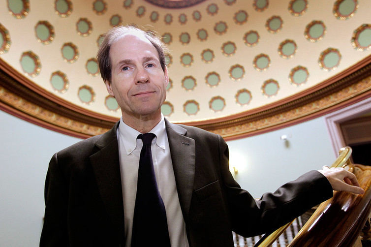 Cass Sunstein is one-half of the duo that coined the term 'nudge' to describe using small interventions to drive government policy changes.