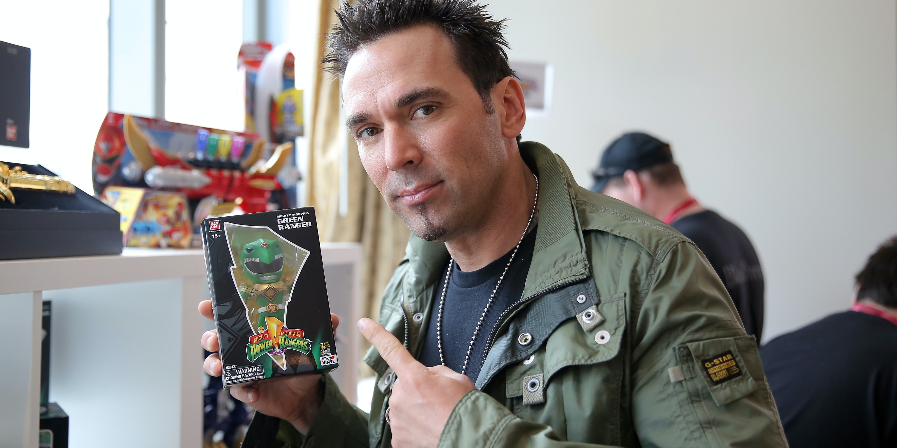 Former Green Ranger Jason David Frank Teases a Valiant Project