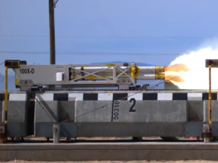 The Air Force's 633 mph Maglev Sled Reignites Hope for American High Speed Rail