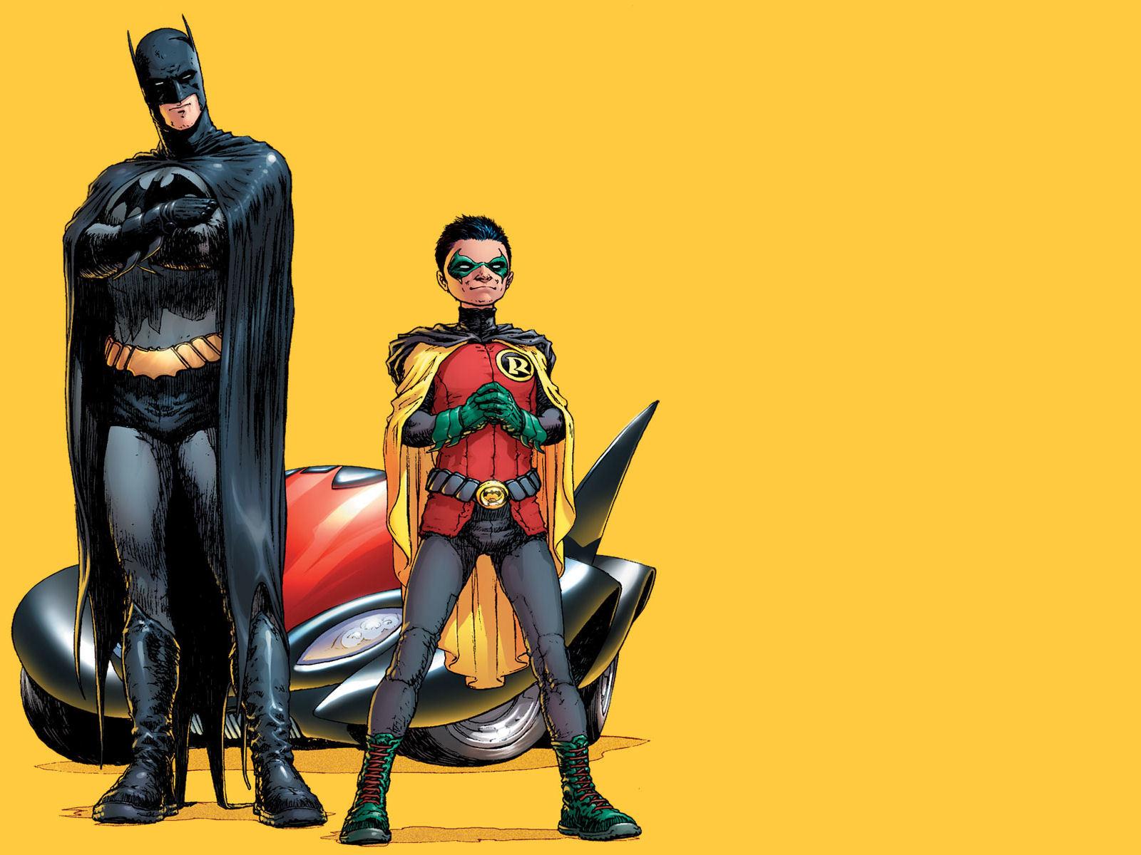 Dick Grayson as Batman.