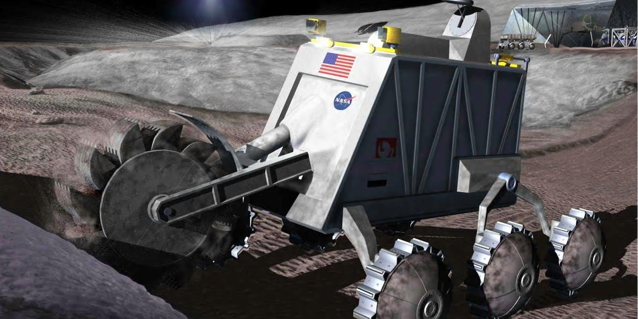 NASA space mining