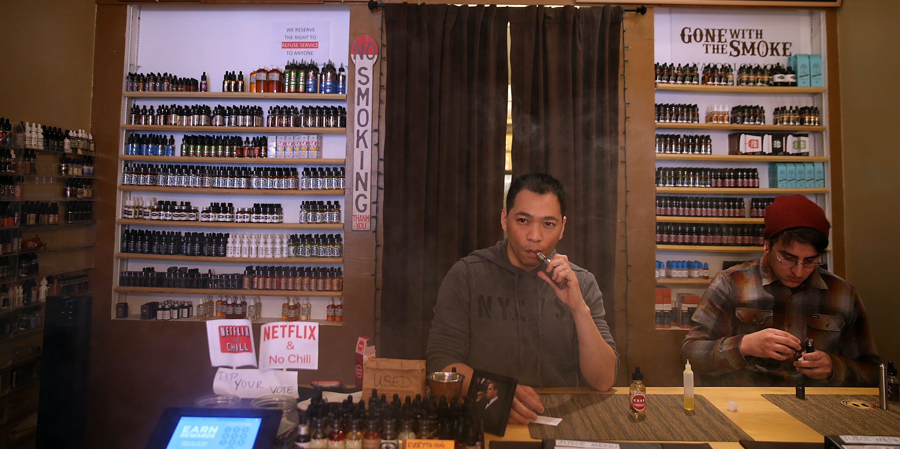 How Donald Trump Could Make Vaping a Partisan Luxury