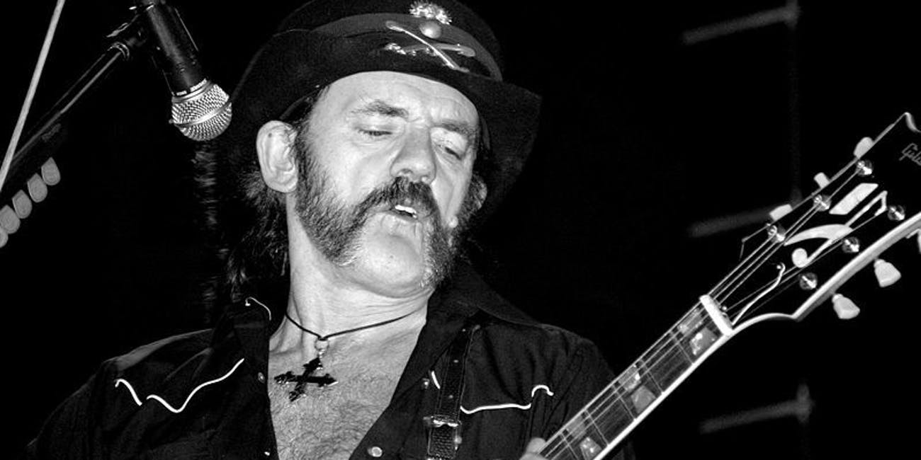 We Should All Live Like Lemmy Kilmister | Inverse