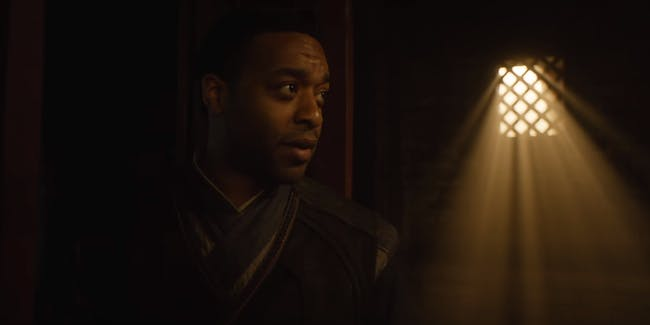 Chiwetel Ejiofor as Mordo in Marvel's Doctor Strange