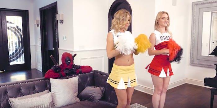 Deadpool 2 porn parody