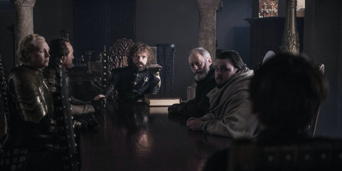 Game of Thrones Series Finale Small Council