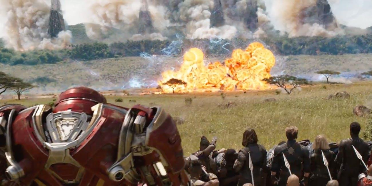 Team Wakanda lines up for war.