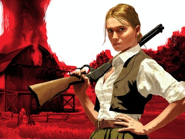 How Do We Get a Cowgirl in 'Red Dead Redemption'?