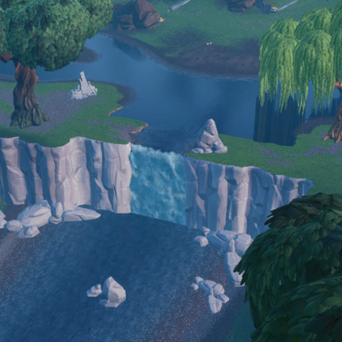 Fortnite Waterfalls Where To Visit All Of Them On The Map Inverse - fortnite waterfalls where to visit all of them on the map inverse