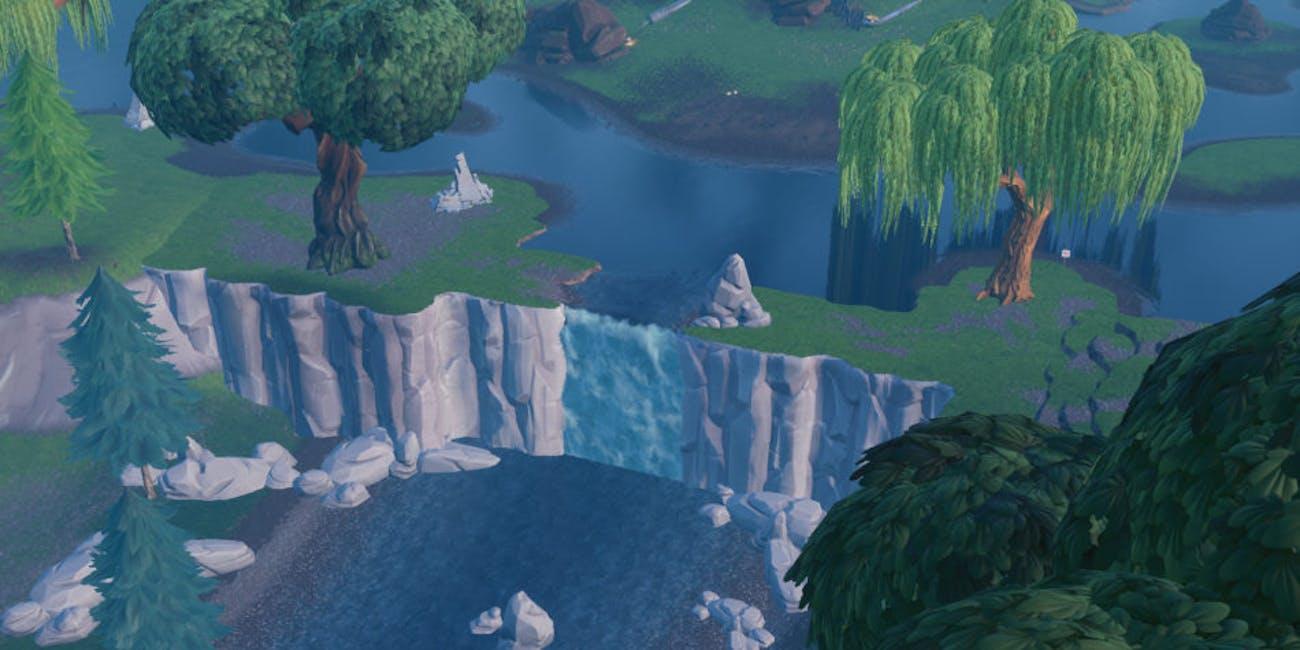 Fortnite waterfall