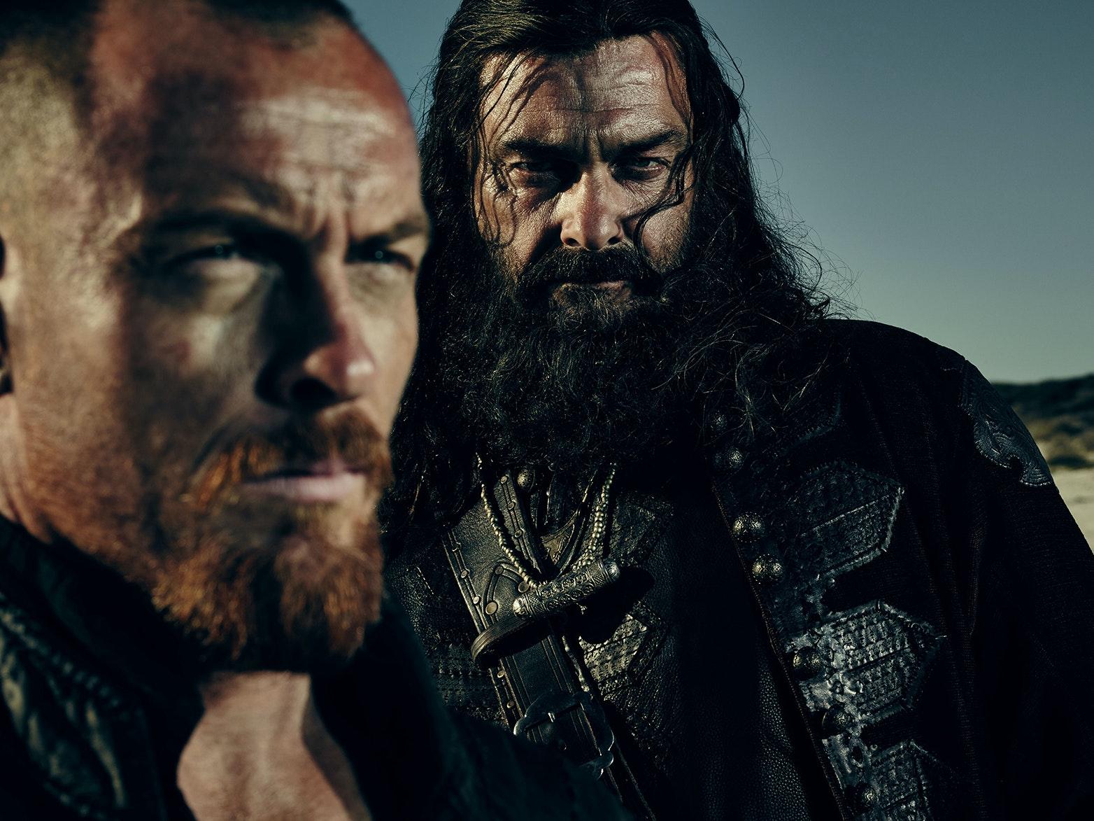 Blackbeard Makes His 'Black Sails' Entrance