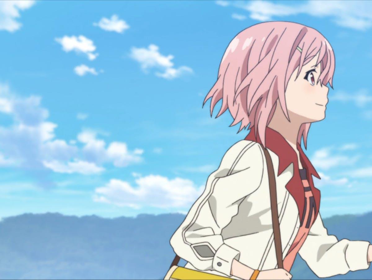 Yoshino Koharu in 'Sakura Quest'.
