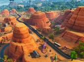 There are the dinosaurs, but where are the oasis and rock archway in 'Fortnite: Battle Royale'?