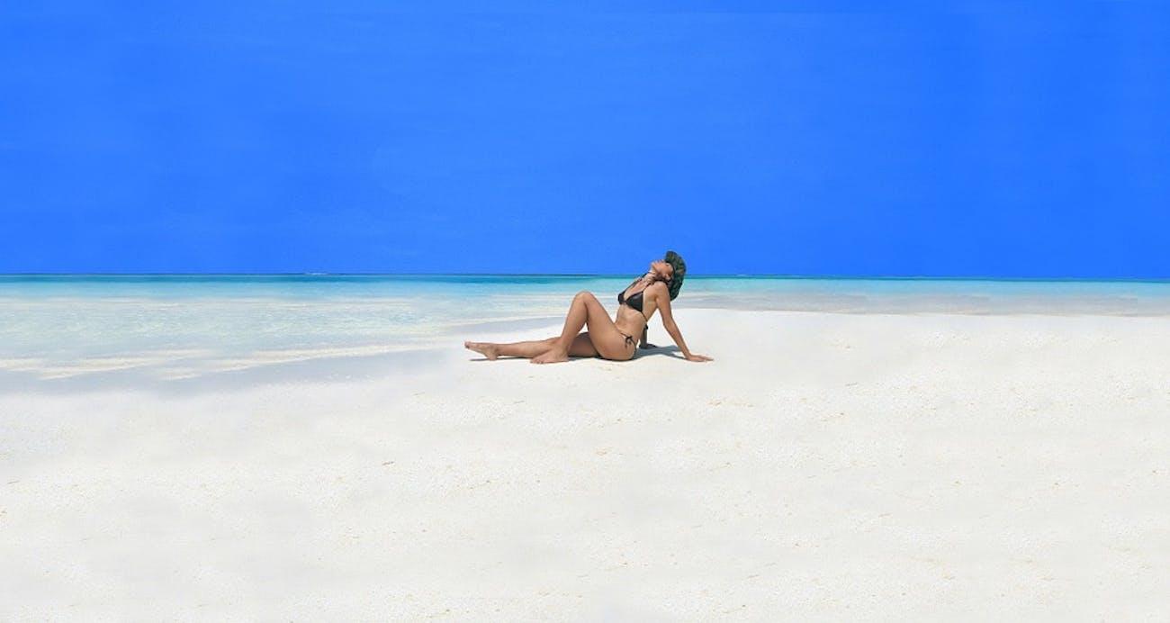 pose beach