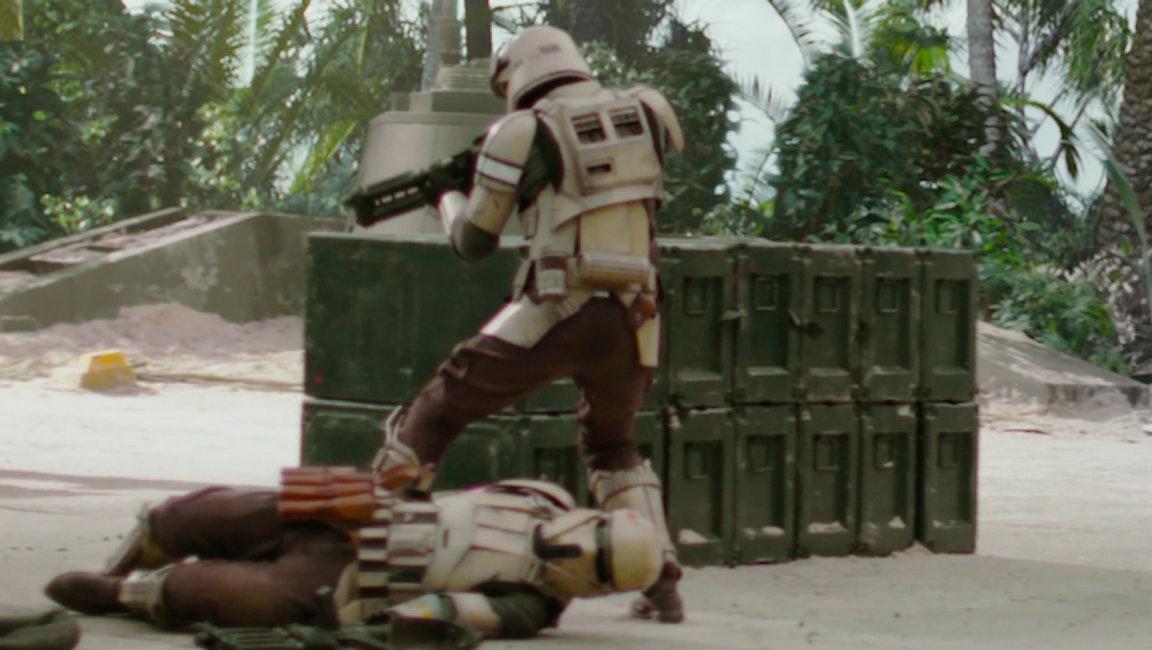 More like Scarif-troopers.