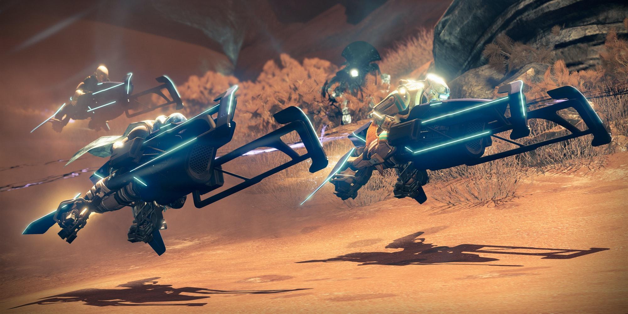 Sparrow Racing League in Destiny